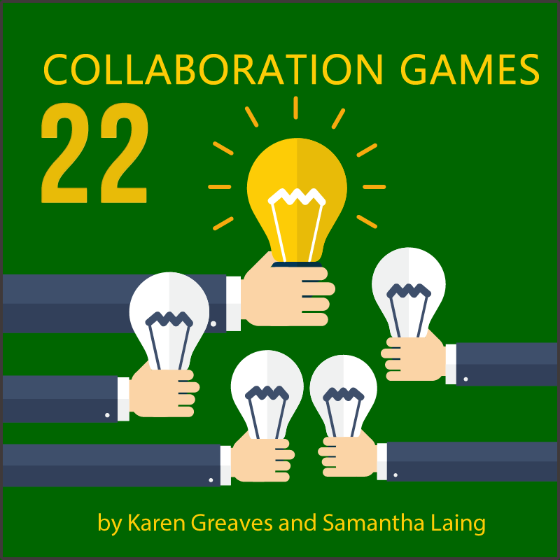 22 collaboration game's by Karen Greaves and Samantha Laing you need to know about today