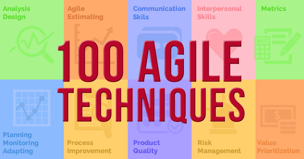 100 Agile Tools Amp Techniques For Project Managers