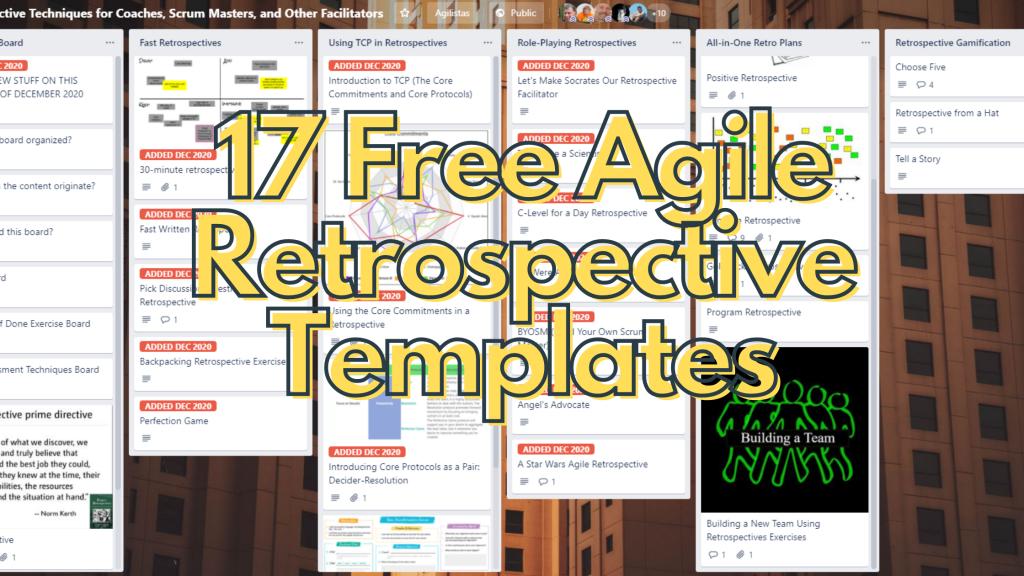 17 agile retrospective templates