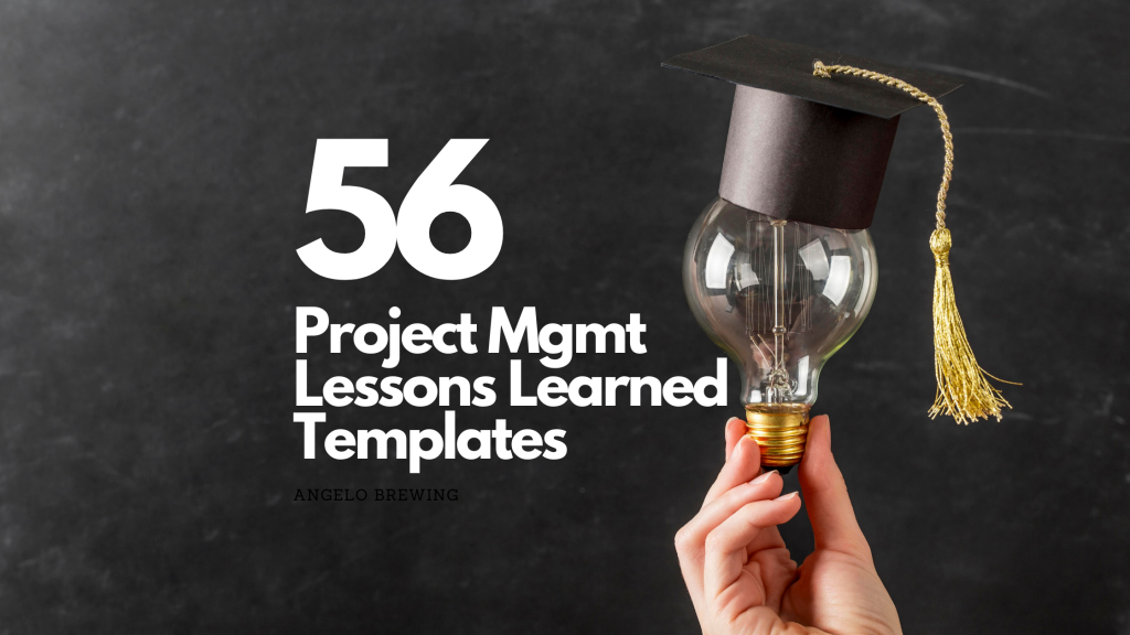 Project Lessons Learned Templates
